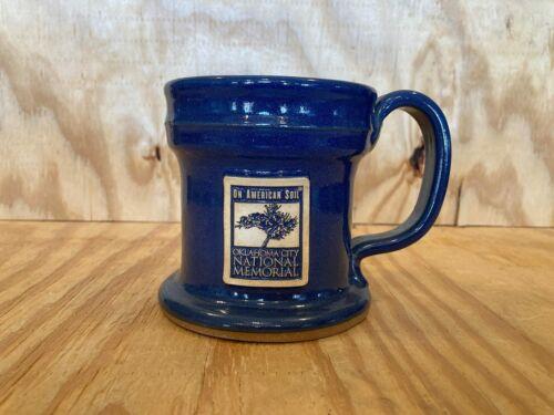 "Sunset Hill Stoneware Oklahoma City National Memorial Mug ""On American Soil"""