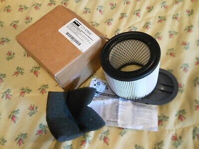 One New Dayton Shop Vacuum Replacement Filter Cartridge 4tb95 - Open Or No Box