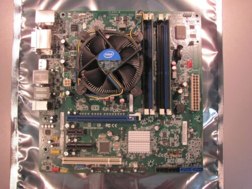 Intel DQ67SW Motherboard Quad Core i5 2400 3.10GHz CPU 4GB DDR3 Combo - 12273