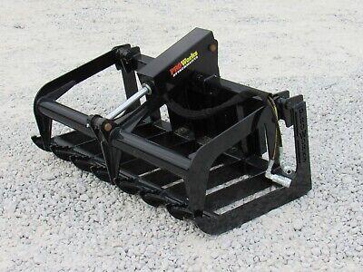 48 Heavy Duty Root Grapple Bucket Attachment Fits Toro Dingo Mini Skid Steer