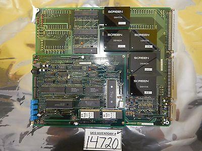 Dns Dainippon Screen Cebb-1011 Bake Controller Pcb Card Ap-1031d Ap-1059b Used