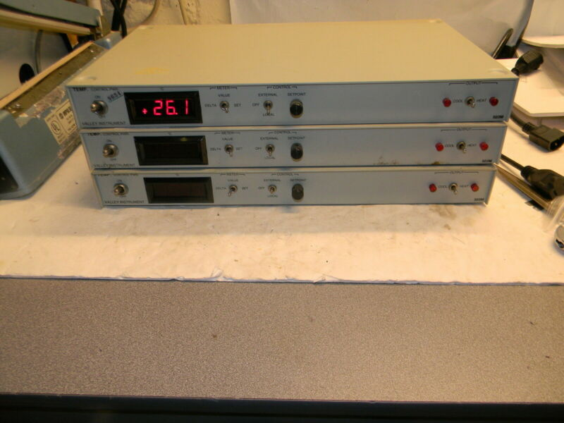 Valley Instrument 503M Temp Control (3 Available) 503MC-L-0-0-1P-1S