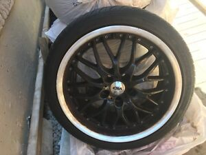 Sets of 4 rims and tires