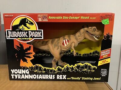 Jurassic Park Vintage Kenner 1993 Young T-Rex MIB