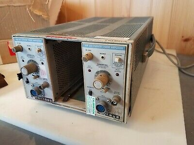 Tektronix Tm503 Chassis X2 Am 503 Current Probe Amplifier - Used