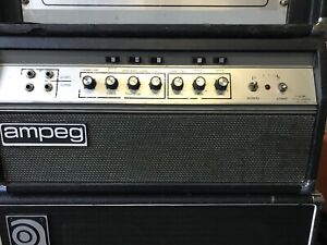 Ampeg SVT 1972 with roadcase