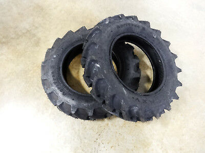 Two New 7-16 Galaxy Agritrac Ii Compact 4wd Tractor Tires 6 Ply Tubeless