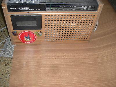 Original Decor für DDR Kult Stern Recorder Type R 160 zur Restauration