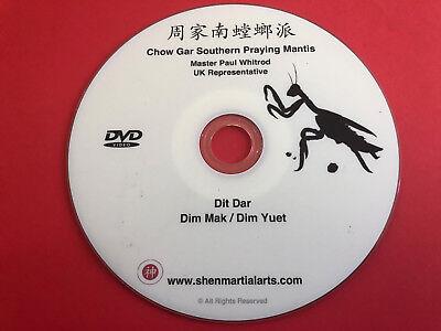 DVD - Chow Gar Southern Praying Mantis Dit Dar, Dim Mak, Dim Yuet