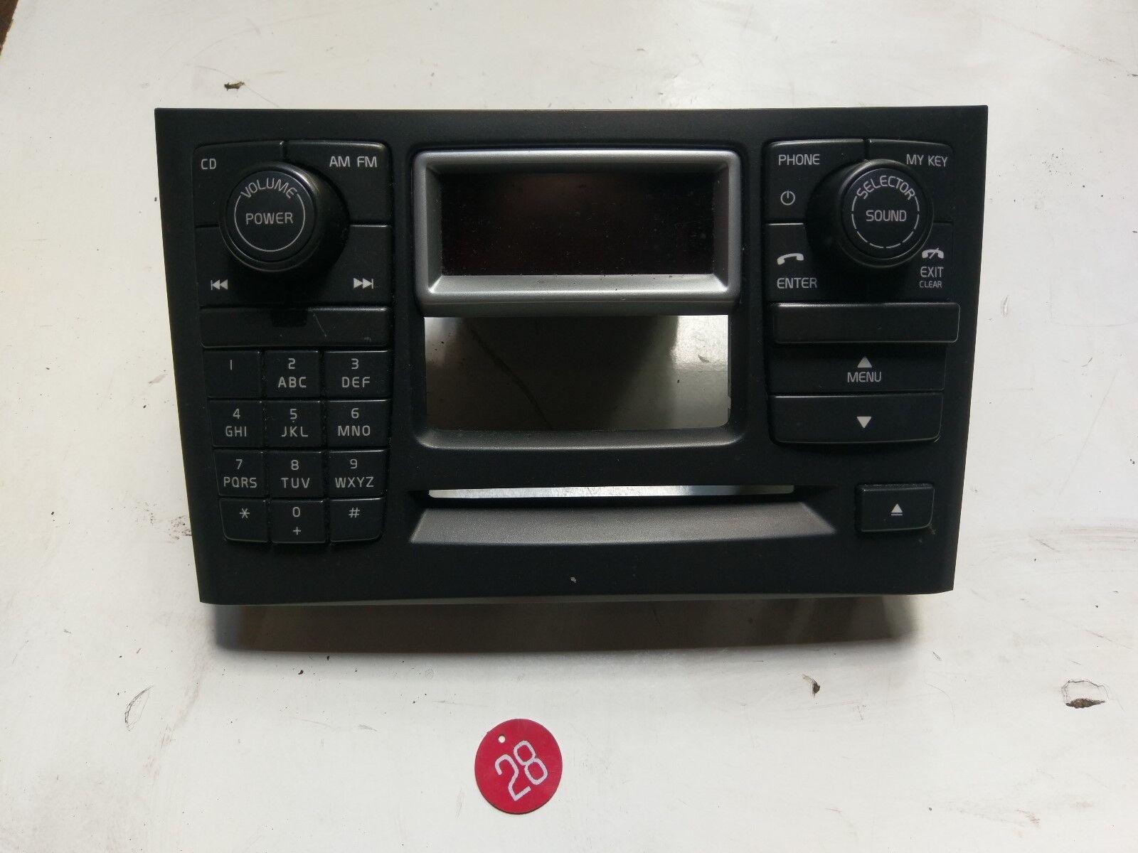 VOLVO  XC90 2005 Audio Equipment Radio Control Panel With Car Phone 30732642