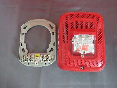 System Sensor Spsrl Fire Alarm Wall Speaker Strobe