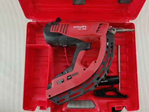 Hilti GX-120 Gas Powered Actuated Tool Nail Gun w/ Hilti Hard Case