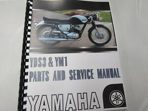 Yamaha YDS3 YM1 parts and service manual