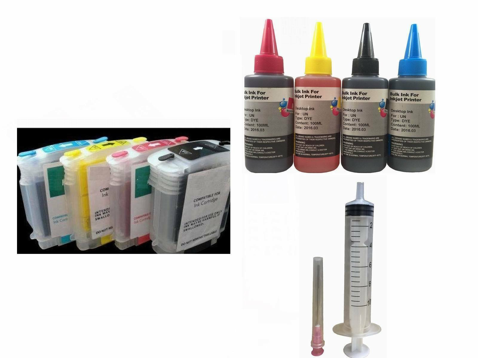 Refillable Ink Kit 88 88xl For Hp Officejet Pro K550dtwn ...