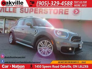 2018 MINI Cooper Countryman ALL4 S | LEATHER | B/U CAM | SUNROOF