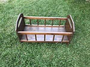 Solid Wood Doll Bed