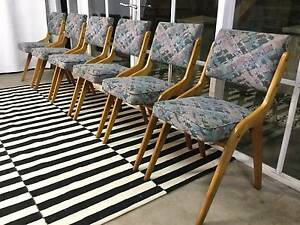 Stunning Early Chiswell Eames-Era 50's Dining Chairs-Can Deliver Arncliffe Rockdale Area Preview