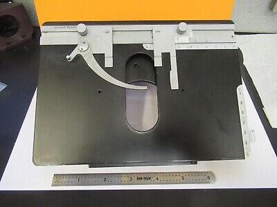 Leitz Orthoplan Stage Table Xy Micrometer Microscope Part As Pictured 11-b-115