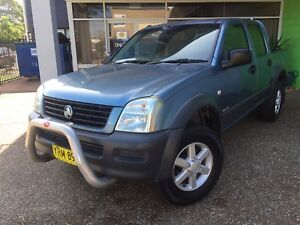 2003 Holden Rodeo LX 3.5L V6 CREW CAB Ute - AUTOMATIC