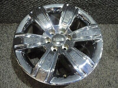 "2016 2017 2018 GMC Sierra 20"" Factory OE Chrome Clad Wheel Hol 5752 20X9 #1"
