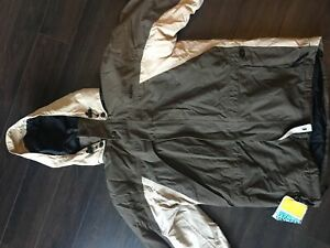 Winter jacket with fleece removable liner size S