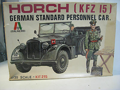 Italeri 1/35 1:35 scale WWII Kfz. 15 Horch German Command Vehicle  6215