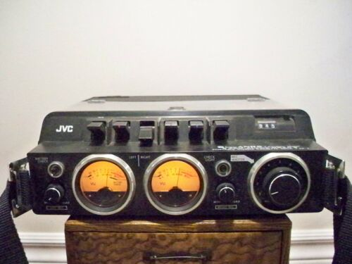 JVC Super ANRS*model KD-2*Professional Field Recorder/Cassette Deck*Japan*rare