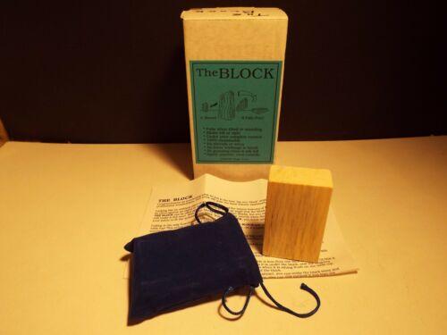 The Block Chazpro Magic Co Effect Trick Illusion Wooden Spirit Seance Prop
