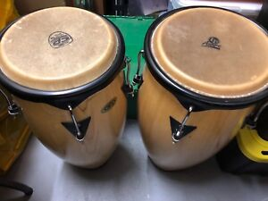 Set of 2 Congas!! Cosmic Percussion / Latin Percussion LP