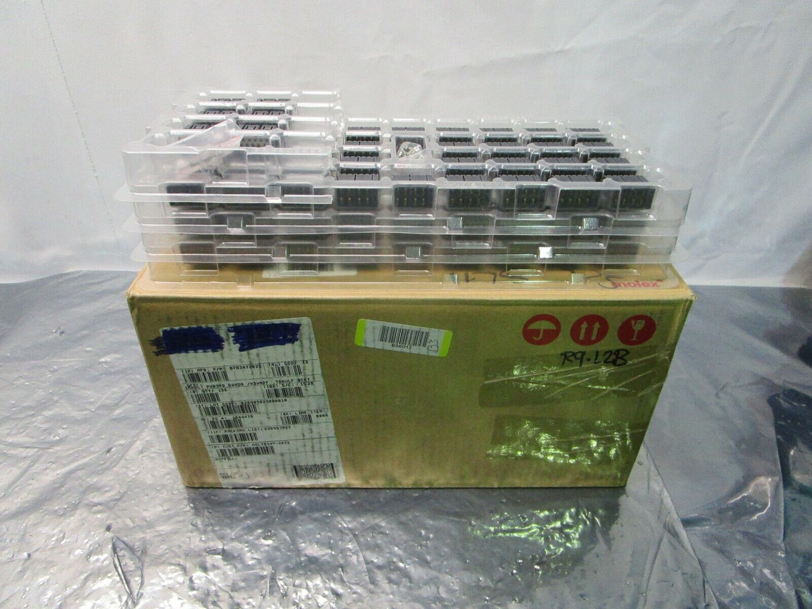 1 Lot of 108 Molex 0783472022 Impact Pwr3Pr RAHdr /HDwnPF .76AuLF 8Ckt, 101997
