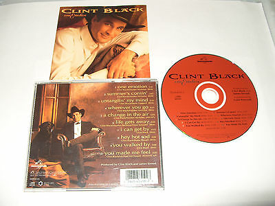 CLINT BLACK -  ONE EMOTION CD -10 TRACK cd Excellent condition ()