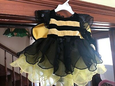 NWT Koala Kids 6/9 Month Honey BumbleBee Halloween Costume Infant Wings Headband - Infant 6-9 Month Halloween Costumes