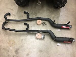 Can Am Outlander Ron Wood's full exhaust system