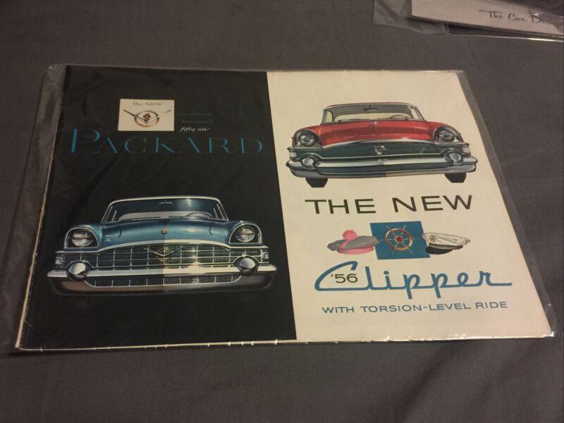 1956 Packard Brochure Folder Caribbean Patrician Clipper Excellent Original 56