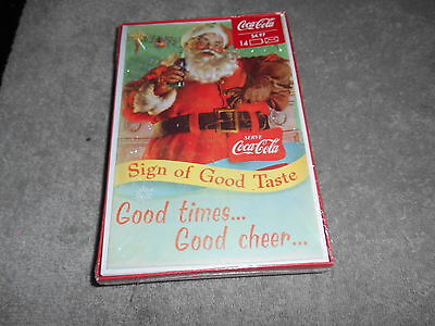 Greeting Cards-14  Coca-cola good friends  hope your hol. are as special as you