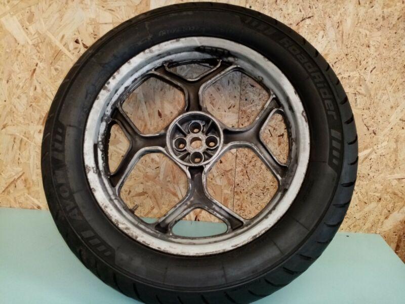 1989 BMW K75 K100 REAR WHEEL 2.75 x 17 & tyre