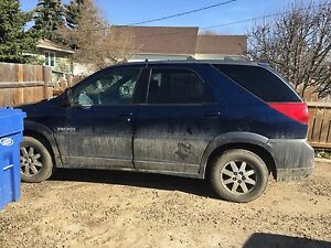 2003 Buick rendezvous 7 passenger needs work