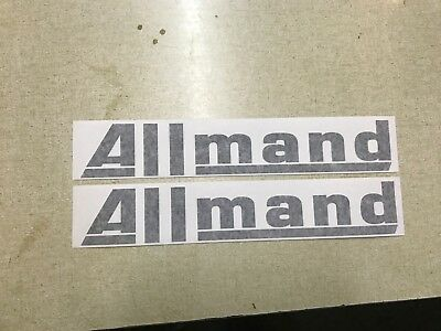 Allmand Loader Decals