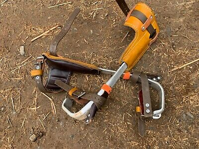 Lineman Climbing Gear - Bashlin Climbers - Buckingham 21d Belt