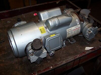 Gast Oil-less Piston Air Compressor 1.5 Hp 9.1 Cfm 100 Psi 7hdd-10-m700x