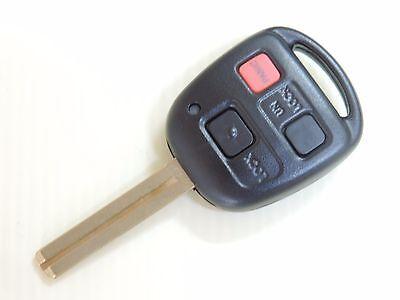 For 2003 - 2009 LEXUS GX470 LX470 GX SUV MASTER UNCUT KEY REMOTE FOB HYQ1512V