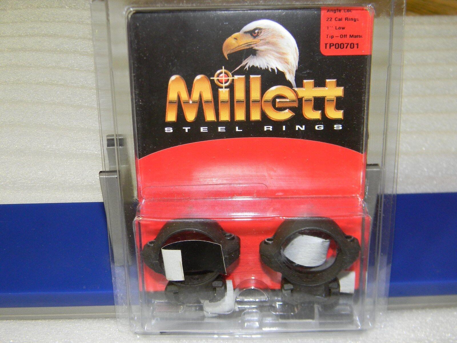 Millett Steel Angle-Loc Windage Adjustable Ring