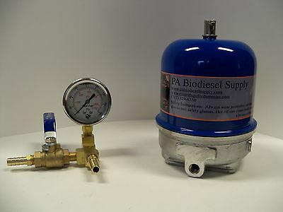 120 Gph Centrifuge Wbrass And Gauge For Wvo Oil And Biodiesel