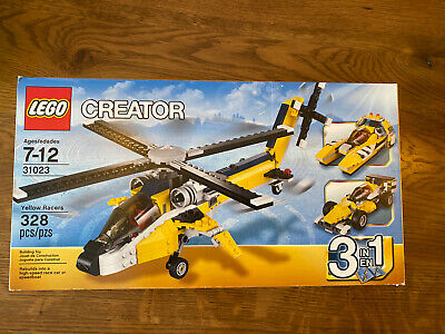 LEGO Creator 31023 Yellow Racers Ages 3+ Build Construction Toy Boys Girls Gift