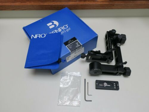 Benro GH3 Gimbal Head + Plate, 55 lb Load, Nature Wildlife Landscape, Induro