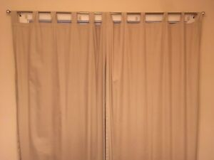 Energy saving blackout curtains