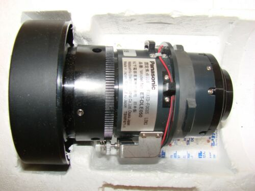 Panasonic Short Focus Fixed Projection Lens ET-DLE050 - throw to screen 0.8:1
