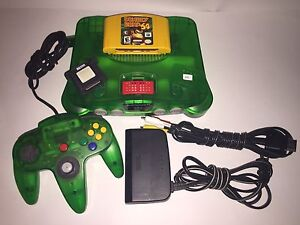 JUNGLE GREEN N64 with extras