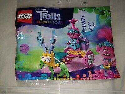 10x LEGO Trolls World Tour Poppys Carriage Polybag Set 30555 x 10...