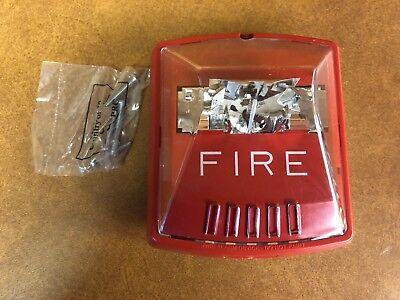 Wheelock Str 127380 Fire Alarm Strobe Red 1224 Vdc